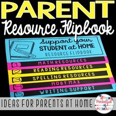 This FREE flipbook is the perfect way to give resources to parents to use with their students at home to support their learning!Each flipbook can be made with only 3 pieces of paper and no trimming!The resources provided were geared towards 2nd grade students but can be useful for students in a variety of grades!This flipbook contains resources for the following:- Reading- Math- Spelling- Moby Max (this has resources for multiple subjects)- WritingYour feedback on this free product is…