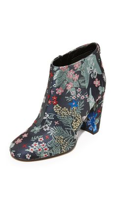 Sam Edelman Women's Cambell Ankle Bootie Grey Multi Size US / 3 UK for sale online Grey Booties, Ankle Booties, Bootie Boots, Ikea Billy Bookcase Hack, Shoe Shelves, Shoe Storage, Floral Boots, Black And White Theme, Florida Fashion