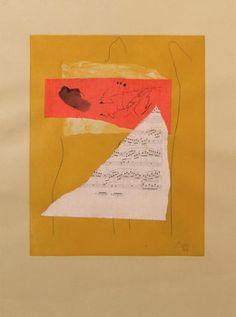 Robert Motherwell, 'Music Collage,' 1978, Dean Borghi Fine Art https://www.artsy.net/artist/robert-motherwell