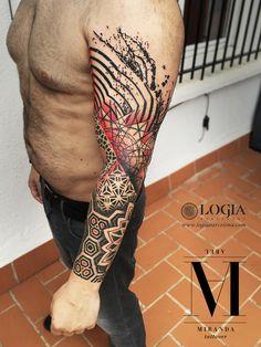 Φ Artist ABEL MIRANDA Φ Info & Citas: (+34) 93 2506168 - Email: Info@logiabarcelona.com #logiabarcelona #logiatattoo #tatuajes #tattoo #tattooink #tattoolife #tattoospain #tattooworld #tattoobarcelona #ink #arttattoo #artisttattoo #inked #instattoo #inktattoo #tatuagem #tattoocolor #psychedelictattoo #psychedelicart #dotwork #geometrictattoo #puntillismo #tattooart #tattooist #tattoolife #ink #psychedelic #psicodelico