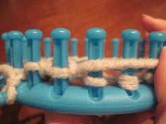 Le cose di Mys@: TELAIO CIRCOLARE: Knit Stich, maglia a dritto