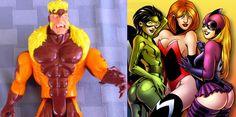 """Muy raro muñequito articulado de acción del archienemigo de Wolverine: Sabretooth (10½"""", Toy Biz 1993) / X-Men & X-Force Toy Biz Sabretooth ~ 1993 Uncanny X-Men Sabertooth action figure Marvel Toy Biz ~ Vintage Marvel Comics X-Men Sabretooth 10½"""" figure Toy Biz 1993 snarl swipe action"""
