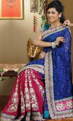 Beautiful color combo - Banarasi but not silk