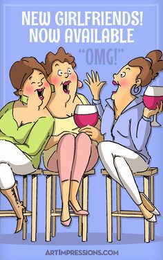 "Art Impressions Rubber Stamps: Challenge 133 - ""Best of Friends"" Challenge + 2014 GIRLFRIENDS Launch!"