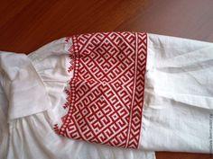 Tambov style white shirt