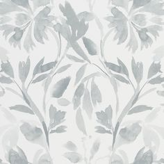 Designers Guild Patanzzi Graphite Wallpaper main image