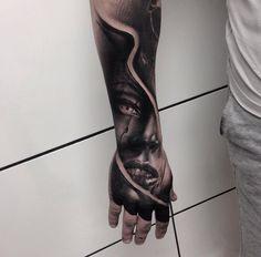 Hand & Forearm Portrait