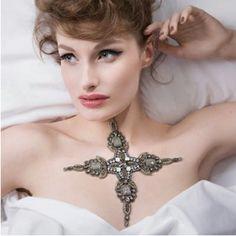 Tattoo Inspired Luxurious Skin Jewelry