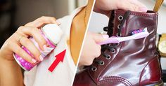 15 tricks to keep your things looking brand new ! An itchy sweater, stains on your new shoes, a broken zip — you're never going to encounter any of these irr. Reto Fitness, House Proud, Something To Remember, Making Life Easier, Health And Beauty Tips, Aspirin, Clean House, Good To Know, Tricks