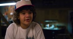 Gaten Matarazzo as Dustin on stranger things