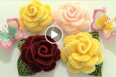 Watch The Video Splendid Crochet a Puff Flower Ideas. Wonderful Crochet a Puff Flower Ideas. Crochet Puff Flower, Crochet Flower Tutorial, Crochet Butterfly, Crochet Flower Patterns, Love Crochet, Crochet Gifts, Learn To Crochet, Crochet Doilies, Crochet Flowers