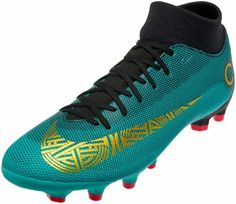 Nike Mercurial Superfly 6 Academy MG – CR7 – Clear Jade Metallic Vivid Gold efeddfe7894e9