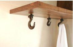 nautical bathroom hooks.