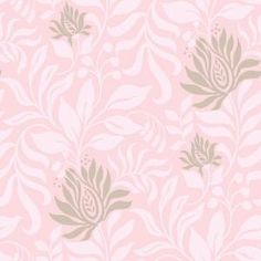 The Wallpaper Company 8 in. x 10 in. Lily Pink Wallpaper Sample-WC1287280S at The Home Depot