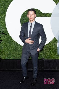 Nick Jonas Nick Jonas, Jonas Brothers, Gq Men, Cute Celebrities, Celebs, Dapper Men, Black Style, Men's Style, Sexy Men