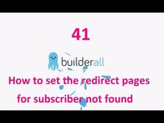 Builderall Tutorial 41 - How to set the redirect pages for subscriber not found or already exists Make Money Online, How To Make Money, How To Get, Marketing Tools, Digital Marketing, Being Used, Online Business, Grid, Platform