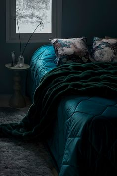 Bed Spreads, Comforters, Blue Green, Beige, Blanket, Furniture, Beautiful, Autumn, Home Decor