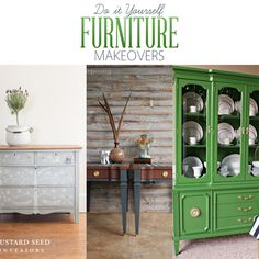 DIY Furniture Makeovers - The Cottage Market