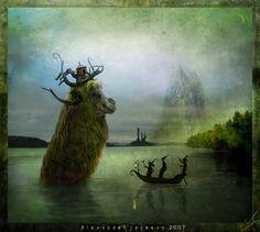 Alexander Jansson | ... imaginaris: Alexander Jansson / Seres imaginarios / Imaginary beings