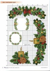 Xmas Cross Stitch, Cross Stitch Christmas Ornaments, Christmas Embroidery, Cross Stitch Charts, Cross Stitching, Cross Stitch Embroidery, Cross Stitch Patterns, Snoopy Christmas, Noel Christmas