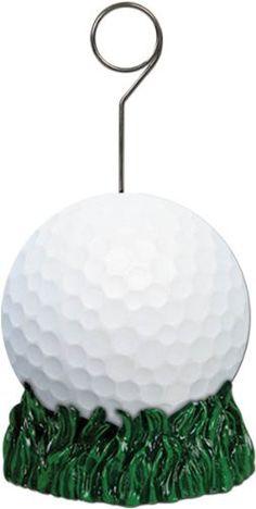Golf Ball Balloon/Photo Holder