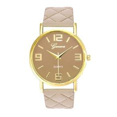 Watches Women Geneva PU Leather Analog Quartz Wrist Watch Women's Watches Casual Watches relogio feminino