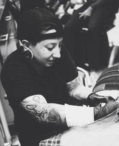 Ashley Neumann has mastectomy tattoo experience. RockStar Tattoo in Milwaukee, Wisconsin. http://www.rockstartattoocompany.com/ink.php [p-ink.org]