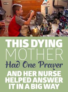 This Dying Mother Had One Paper And Her Nurse Helped Answer it In a BIG Way!