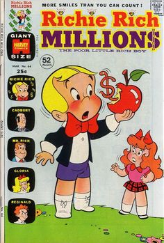 Cover for Richie Rich Millions (1961 series) #64