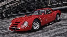 Alfa Romeo Guilia TZ2 - modified by jerry001 on DeviantArt