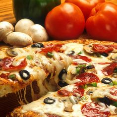 Supreme Combo Pizza - Cybelle