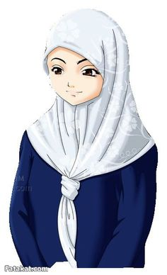 hijab animasi on Pinterest | Hijabs, Muslim and Anime