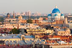 Beautiful city of st. Petersburg! Travel Trend: seeing a city from a rooftop! What's your favorite birds-eye view?
