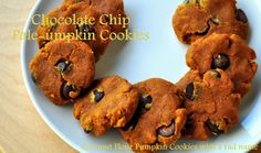 Paleo Pumpkin Chocolate Chip Cookies [Made 11/05/12: Really good; not too sweet; used Enjoy Life mini chips]