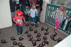 Super Mario Bros Birthday Party Ideas | Photo 1 of 14 | Catch My Party
