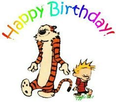 Calvin & Hobbes Happy Birthday!