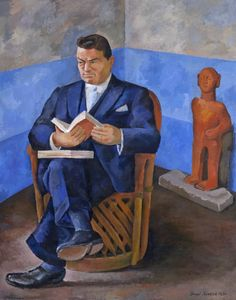 Portrait of John Dunbar / Diego Rivera / 1931 / oil on canvas