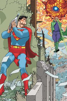 All Star Superman written by Grant Morrison and illustrated by Frank Quietly