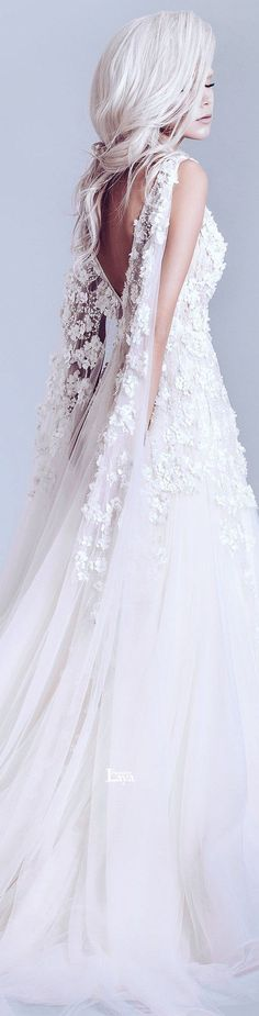 Alfazairy Spring-Summer 2015 Couture Wedding Dress