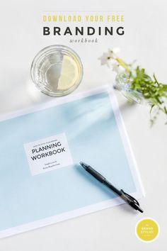 #Free #branding workbook. I really like this one!