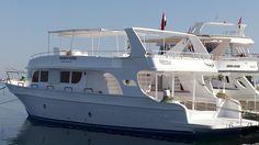 """Unser Tagesboot die """"Freedom 1"""" - jeden Tag für Euch im Roten Meer unterwegs!"""