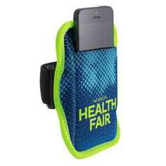 JogStrap Neoprene Smartphone/iPod Holder Four Color Process - Flytrap Promotional #exercise #workout #running #jogging #walking  www.flytrap-promotional.com