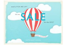 SALE graphic from Anthropologie Newsletter