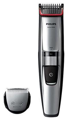 Philips Tondeuse barbe Series 5000: Notre nouveau guide de coupe dynamique soulève les poils pour une coupe parfaite Sabot barbe réglable…