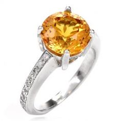 Estate Yellow Sapphire Diamond Platinum Ring This timeless estate yellow sapphire and diamond ring is crafted in solid platinum. Featuring a prominent fancy cut genuine yellow sapphire approx. Band sides are surrounded in small round-cut diamonds Platinum Diamond Rings, Sapphire Diamond, Round Cut Diamond, Yellow Diamond Engagement Ring, Antique Engagement Rings, Diamonds, Fancy, Jewelry, Jewlery