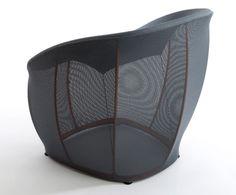 Sessel Membrane  – ein Spiel von Transparenz und Leichtigkeit