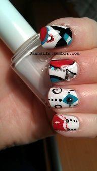 #different #motif #nail #art