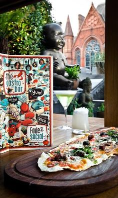 Flatbreads and cocktails in the WinterGarden