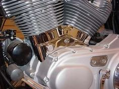 Chrome Left Side Cylinder Base Cover For Harley Davidson Sportster XL 2004-UP…