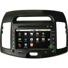 Android Car DVD Gps navigation Stereo for Hyundai Elantra(2008-2010) with Radio Bluetooth 3G Wifi-1